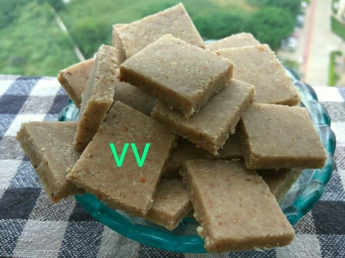 OPOS Badam Katli with Palm Jaggery | The Millet Table